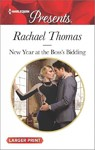 New Year at the Boss's Bidding - Rachael Thomas (Paperback)