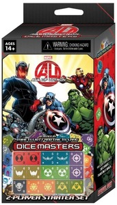 Marvel Dice Masters - Avengers Age of Ultron Starter Set (Dice Game) - Cover