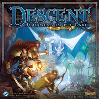 Descent: Journeys in the Dark: Second Edition - Core Game (Board Game) - Cover