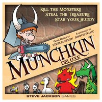 Munchkin Deluxe (Card Game) - Cover