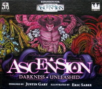 Ascension - Darkness Unleashed (Card Game) - Cover