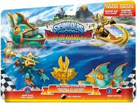 Skylanders SuperChargers - Sea Racing Pack (For 3DS, Wii, Wii U, iOS, PS3, PS4, Xbox 360 & Xbox One) - Cover