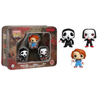 Funko Pocket Pop! - Funko Pocket Pop! Horror Collection 3-Pack Tin  - Cover