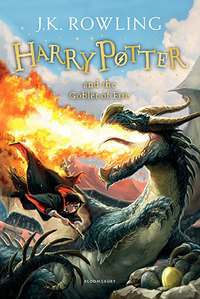 Harry Potter and the Goblet of Fire - J. K. Rowling (Paperback) - Cover