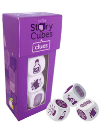 Rory's Story Cubes: Clues - Cover