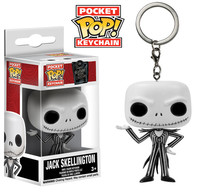 Funko Pocket Pop! Keychain - Tim Burton's The Nightmare Before Christmas Keychain: Jack Skellington - Cover