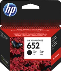HP 652 Black Original Ink Advance Cartridge - Cover