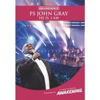 Ps.John Gray - He Is I Am (DVD) - Cover