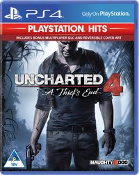 Uncharted 4: A Thief's End - PlayStation Hits (PS4) - Cover