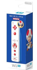 Nintendo Remote Plus - Toad Edition (Wii) - Cover