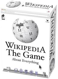 Wikepedia: The Game About Everything (Party Game) - Cover
