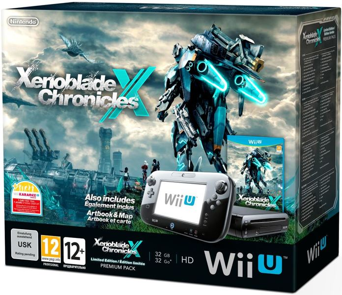 Nintendo wii u premium pack console xenoblade chronicles x nintendo wii u premium pack console xenoblade chronicles x artbook poster wii gumiabroncs Image collections