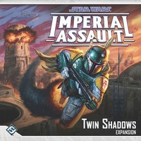 Star Wars: Imperial Assault - Twin Shadows Expansion (Board Game) - Cover