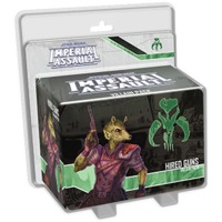 Star Wars: Imperial Assault - Hired Guns Villain Pack (Board Game) - Cover