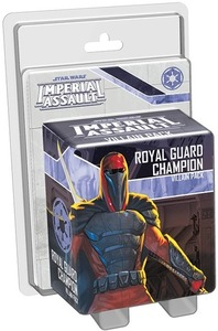Star Wars: Imperial Assault - Royal Guard Champion Villain Pack (Board Game) - Cover
