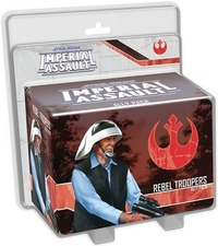 Star Wars: Imperial Assault - Rebel Troopers Ally Pack (Board Game) - Cover