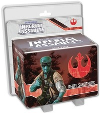 Star Wars: Imperial Assault - Rebel Saboteurs Ally Pack (Board Game) - Cover