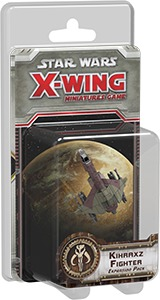 Star Wars: X-Wing Miniatures Game - Kihraxz Fighter Expansion Pack (Miniatures) - Cover