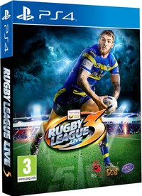 Rugby League Live 3 (PS4) - Cover