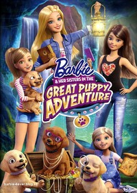 Barbie and Her Sisters In the Great Puppy Adventure (DVD) - Cover