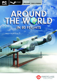 Around the World in 80 flights (PC Download) - Cover