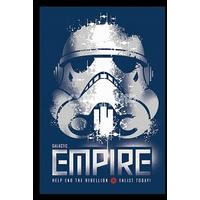 Star Wars - Galactic Empire - Enlist Today (Framed Poster)