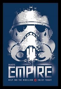 Star Wars - Galactic Empire - Enlist Today (Framed Poster) - Cover