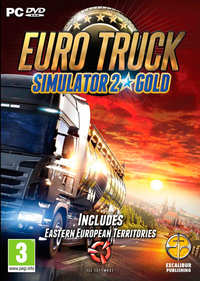 Euro Truck Simulator 2 Gold (PC) - Cover
