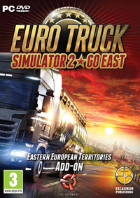 Euro Truck Simulator 2  - Go East Add-on (PC) - Cover