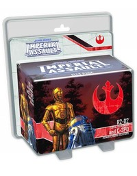 Star Wars: Imperial Assault - R2-D2 and C-3PO Ally Pack (Board Game) - Cover