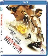Mission Impossible: Rogue Nation (Blu-ray) - Cover