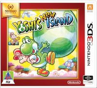 Yoshi's New Island (3DS) - Cover