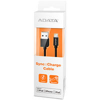 ADATA Sync and Charge Lightning Cable - Black (100cm)