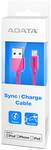 ADATA Sync and Charge Lightning Cable - Pink (100cm)