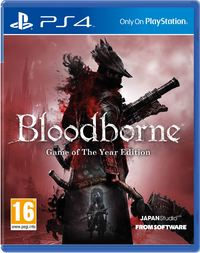 Bloodborne (PS4) - Cover