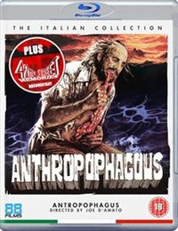 Anthropophagus (Blu-ray) - Cover