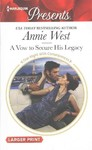 A Vow to Secure His Legacy - Annie West (Paperback)