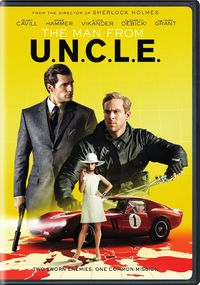The Man From U.N.C.L.E (DVD) - Cover