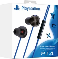 Sony In-ear Stereo Headset with built-in mic for PlayStation 4 (PS4, PS Vita, smartphones & tablets) - Cover