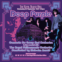 Deep Purple - Concerto For Group & Orchestra (2002 Remix) (Vinyl) - Cover