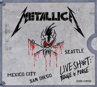 Metallica - Live Shit: Binge & Purge (Region 1 DVD) - Cover