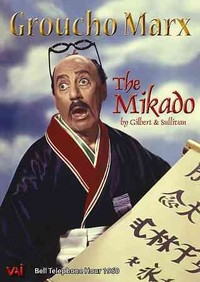 Groucho Marx In the Mikado (Region 1 DVD) - Cover