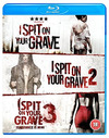 I Spit On Your Grave/I Spit On Your Grave 2/I Spit On Your Grave 3 (Blu-ray)