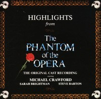 Various Artists - Phantom Of The Opera - Highlights - Original Soundtrack (CD) - Cover