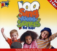 Cedarmont Kids - 100 Singalong Songs For Kids (CD) - Cover