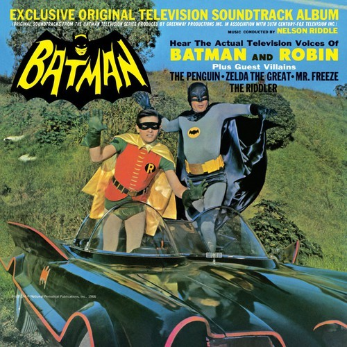 Nelson Riddle Batman Tv O S T Cd Music Online Raru