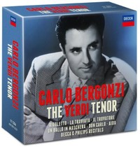 Carlo Bergonzi - Verdi Tenor (CD) - Cover