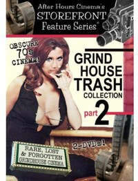 Grindhouse Trash Collection Part 2 (Region 1 DVD) - Cover
