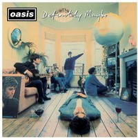 Oasis - Definitely Maybe (CD) - Cover