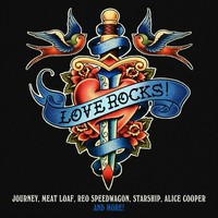 Various Artists - Love Rocks (CD) - Cover
